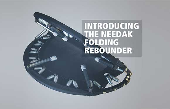 Introducing the Folding Needak Rebounder